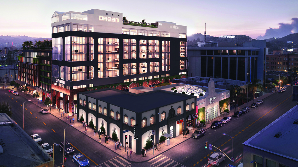 Dream Hotels (luxury on STR's chain scale) is representative of the ''Throwback lifestyle.'' The 179-room Dream Hollywood will open in Los Angeles in June, featuring a rooftop pool that can be transformed into a stage.<br /><br /><strong>Photo Credit: VisualHouse</strong>