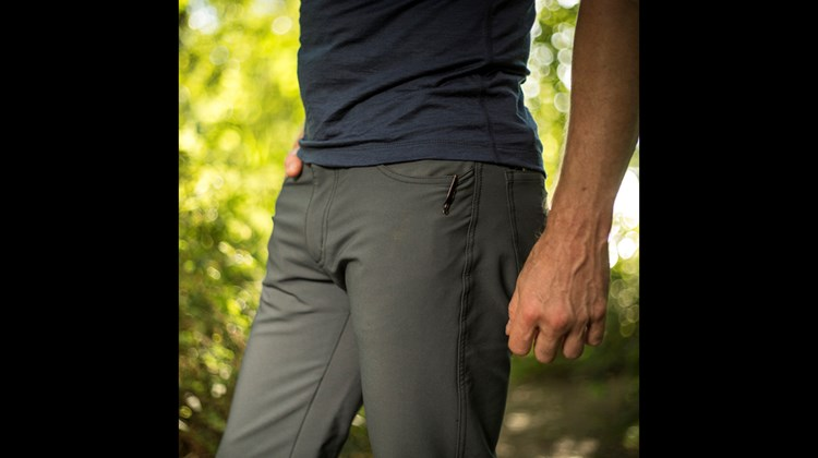 These jeans sport many advantages for the casual traveler. For starters, they are made of a four-way stretch fabric and have a fleece-like lining for comfort. In addition to being unusually light weight (about 16 ounces), water-, dirt- and stain-resistant, the Thunderbolt Mark II Jeans feature a hidden zipper on the right rear pocket large enough to safely carry a passport and, according to the manufacturer, will maintain their insulating properties even when wet.