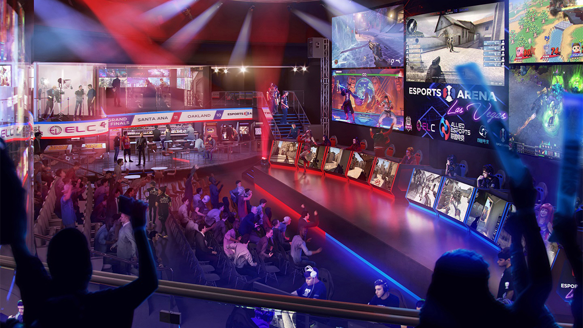 Luxor Opening New Esports Arena Travel Weekly