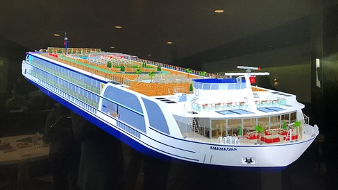 AmaWaterways going big to add amenities for new vessel