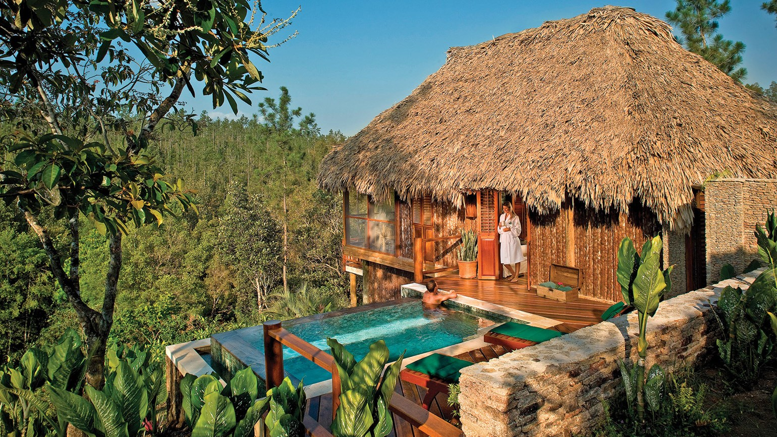 Surprising sylvan elegance: Belize's Blancaneaux Lodge