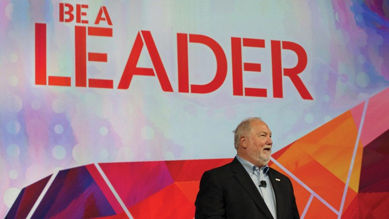 Roger Block, president of Travel Leaders Network, outlined five steps for success during the Travel Leaders Network 2017 International Conference.