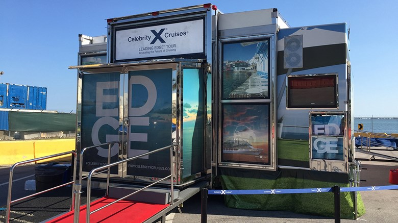 Truck Edge Mobile >> Checking In On Celebrity S Leading Edge Tour Travel Weekly