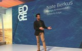 Celebrity Cruises hired designer and TV host Nate Berkus as a ''design ambassador'' to highlight how the concepts of Celebrity's Edge-class ships work.