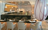 The sushi restaurant on the Seabourn Encore.