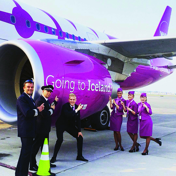 Icelandic ultralow-cost carrier Wow will fly to eight U.S. destinations as of July.