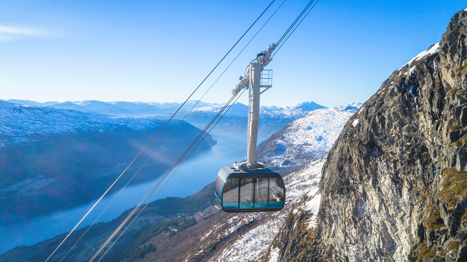 Loen Skylift set to open in Norway