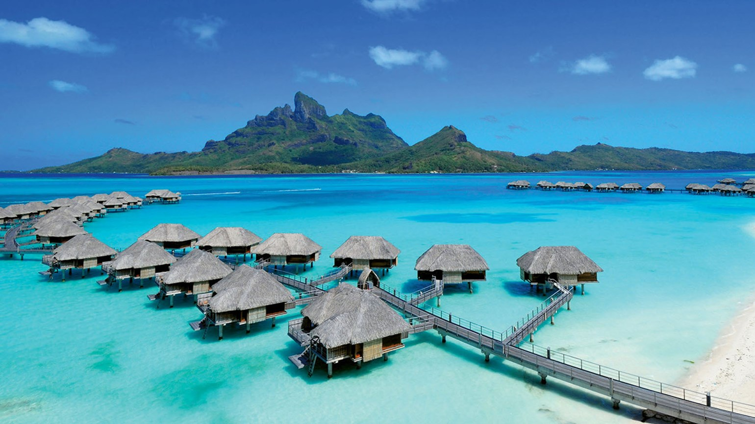 Four Seasons Resort Bora Bora package celebrates the overwater bungalow