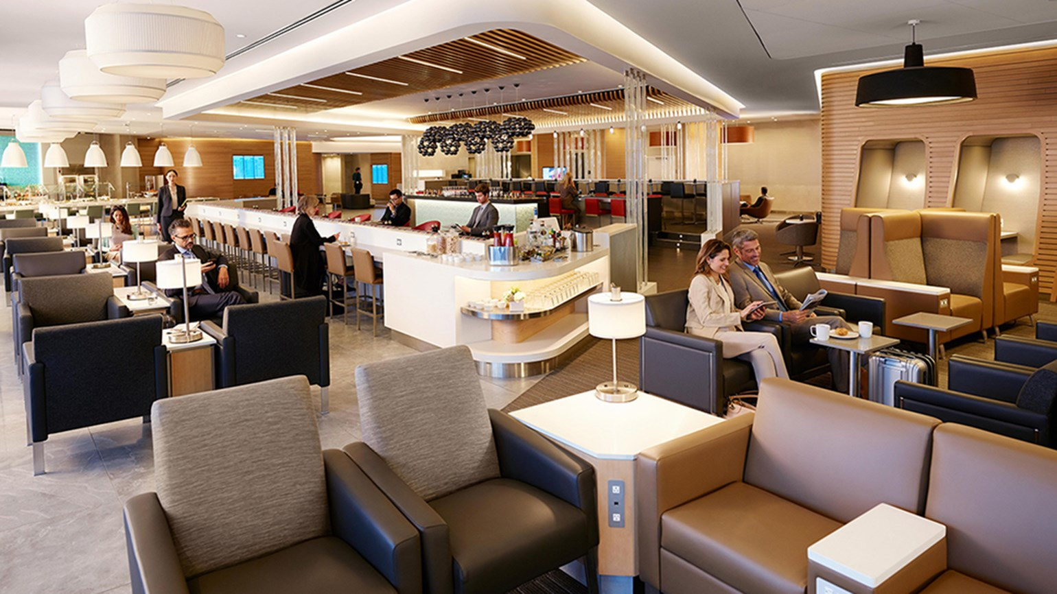 American unveils renovated Flagship Lounge at JFK
