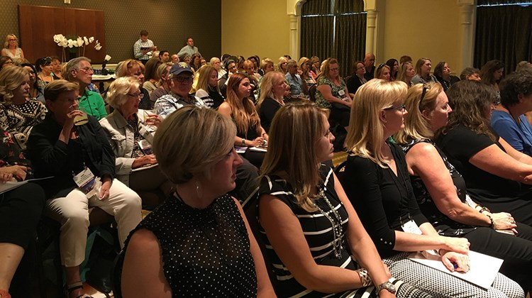 GTM West advisors attend an orientation session at the Westin Lake Las Vegas on May 18.<br /><br /><strong>Photo Credit: Emma Weissmann</strong>