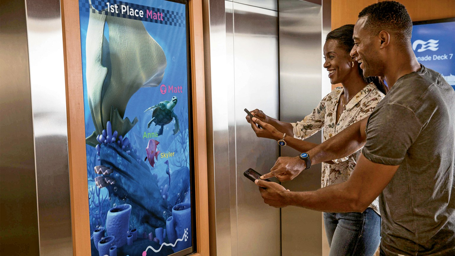 Princess guests using Ocean Medallion will choose their own avatar