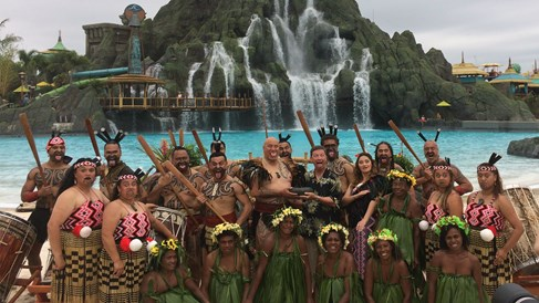 Universal's Volcano Bay opens with South Pacific ceremony