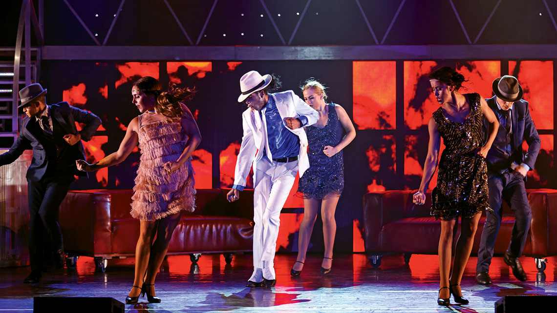"The Michael Jackson tribute show ""Thriller Live"" at the Parisian Macao."