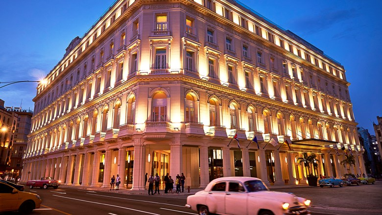 The Gran Hotel Manzana Kempinski is on the list of 84 Cuban hotels deemed off limits to Americans.