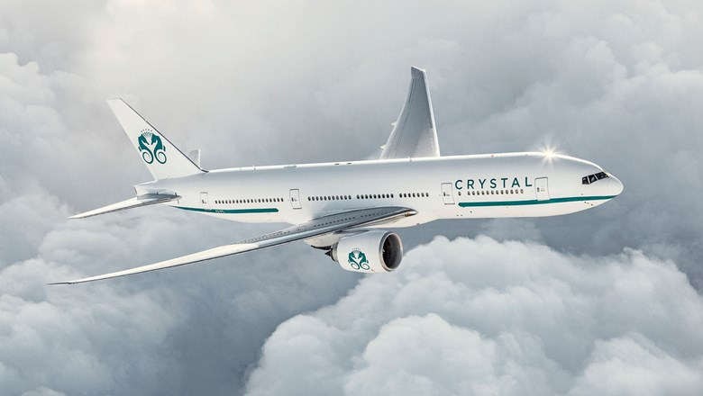 Crystal has decided to charter its 84-seat Boeing 777, the Crystal Skye, to parent company Genting Hong Kong for a 10-day September tour.