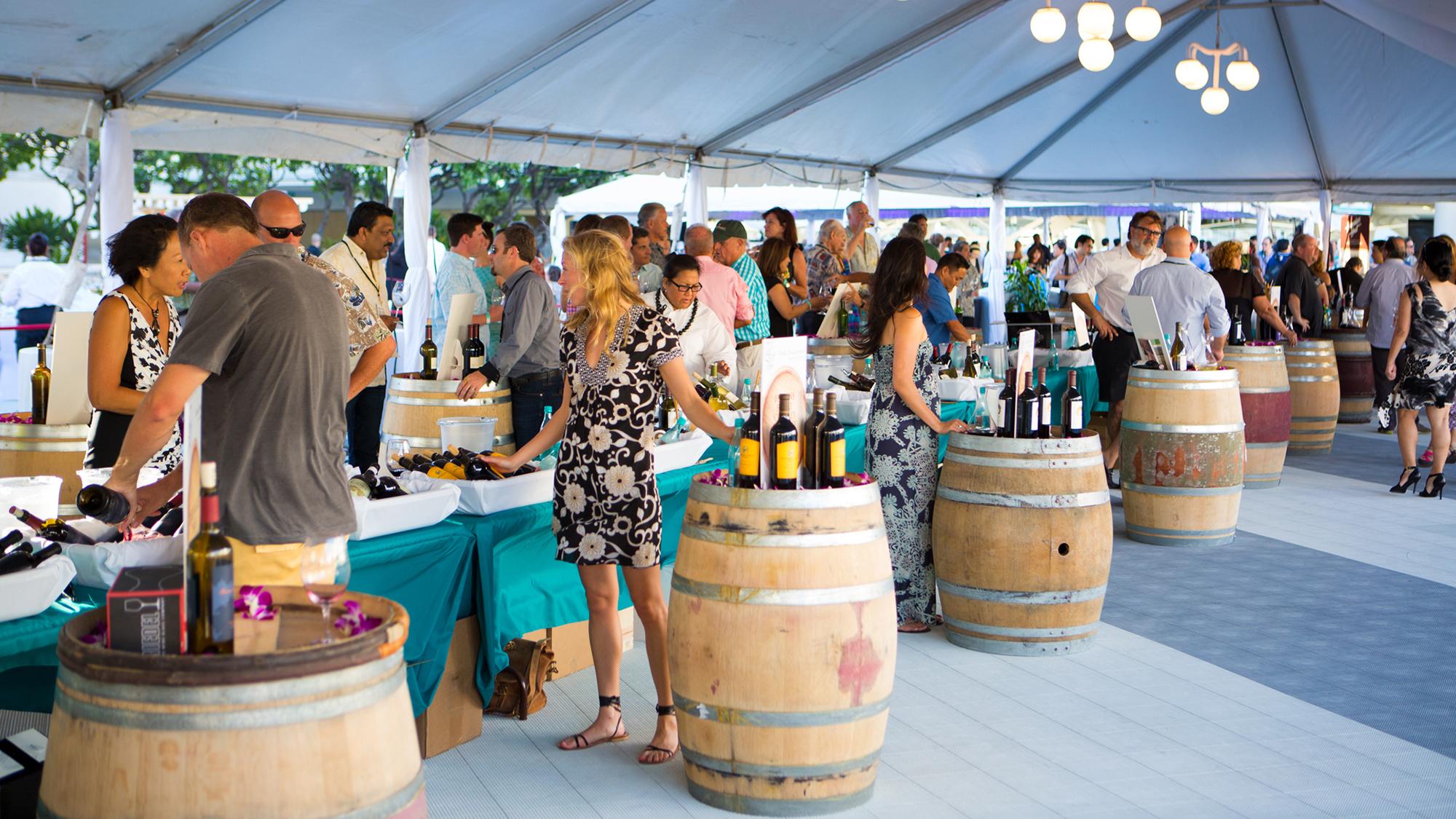 Hawaiian Wine And Food Festival