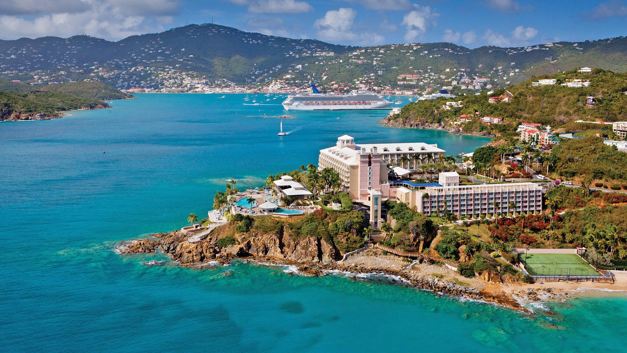 The Frenchman S Reef Morning Star Marriott Beach Resort Before Hurricane Irma