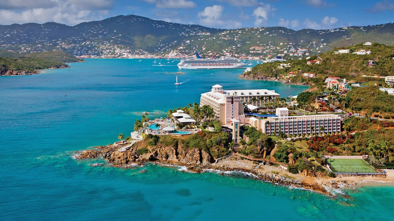 The water's fine at Frenchman's Reef Marriott: Travel Weekly