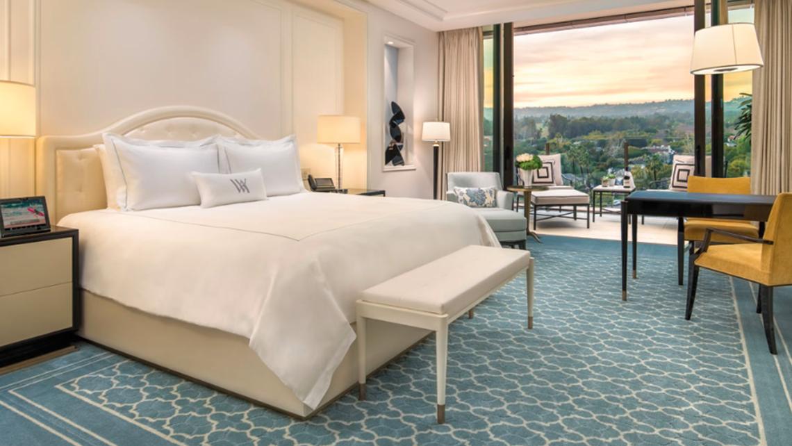 Waldorf astoria beverly hills opens travel weekly for Streamline luxury suites