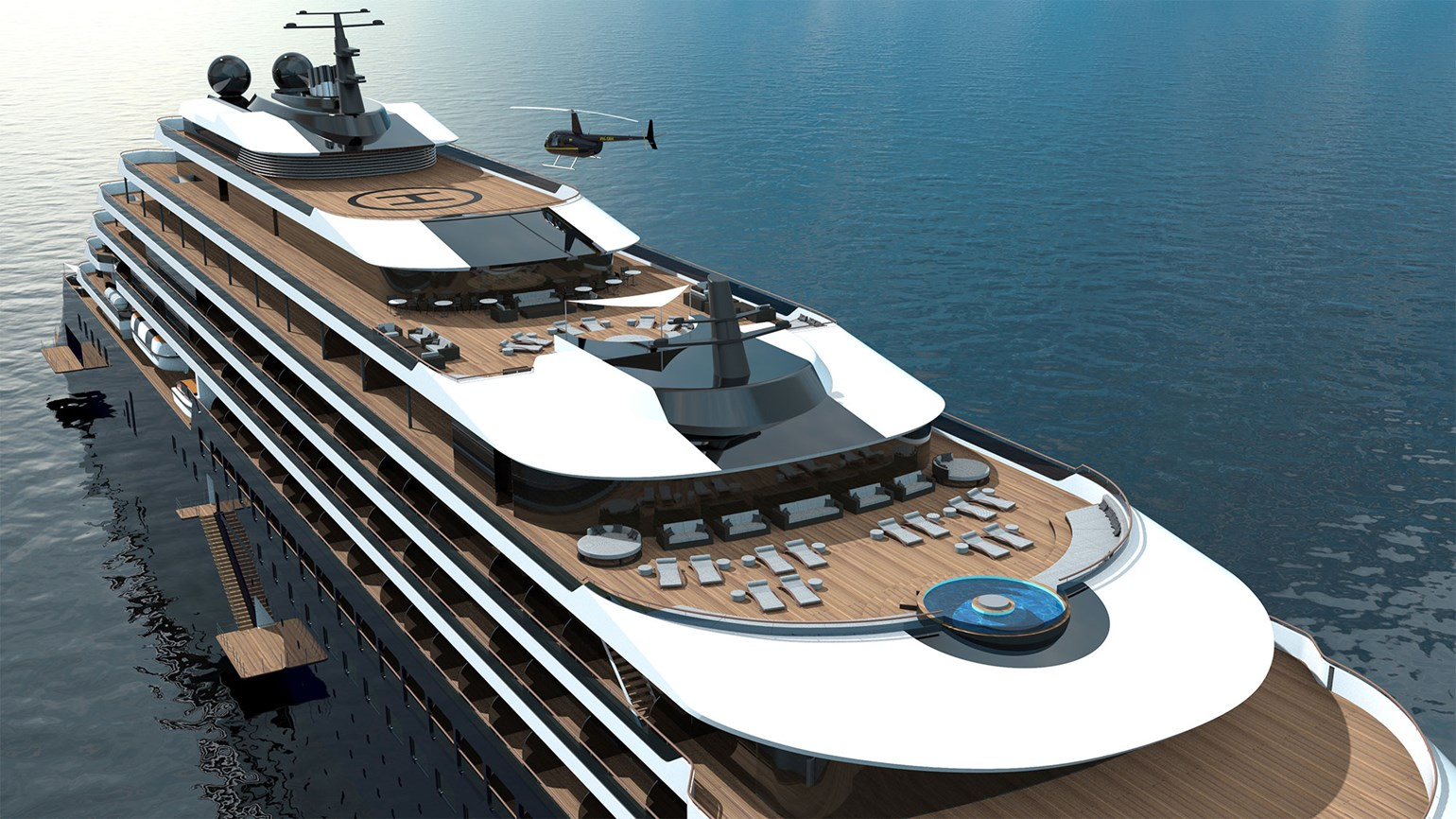 Hospitality ace Ritz-Carlton proposes to bring something new to cruising