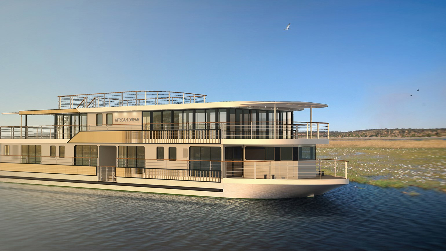 CroisiEurope unveils Africa ship design, plans for second vessel