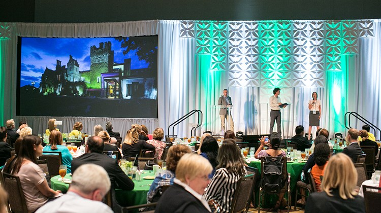 Tourism Ireland and its partners educate GTM attendees on all that the country has to offer during Monday's lunch.
