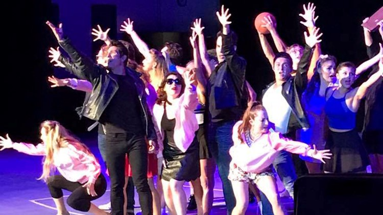 Royal Caribbean International treated attendees to an exclusive rehearsal of Grease at their Entertainment Studio following a dinner reception on Monday night.