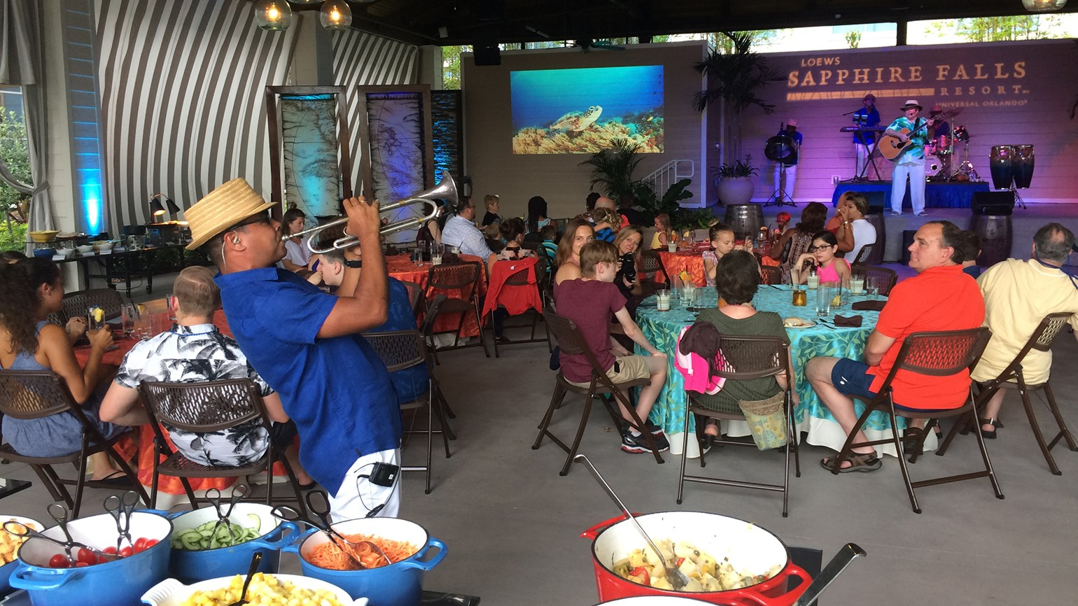 Loews Sapphire Falls adds weekly Caribbean dinner show