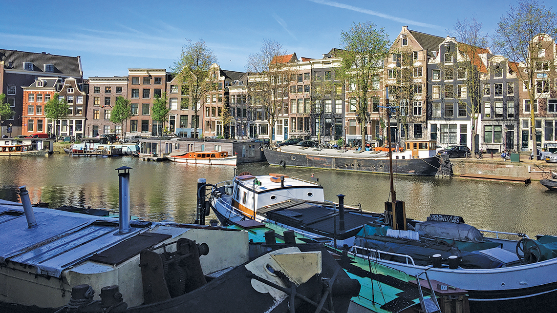 An Amsterdam canal. Photo Credit: Yeoh Siew Hoon