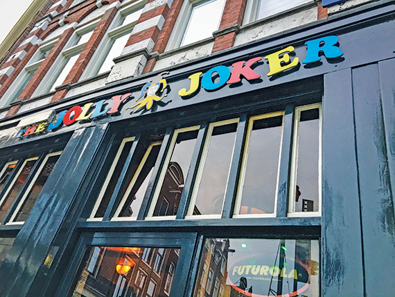 The Jolly Joker, a coffee shop in Amsterdam. Photo Credit: Yeoh Siew Hoon