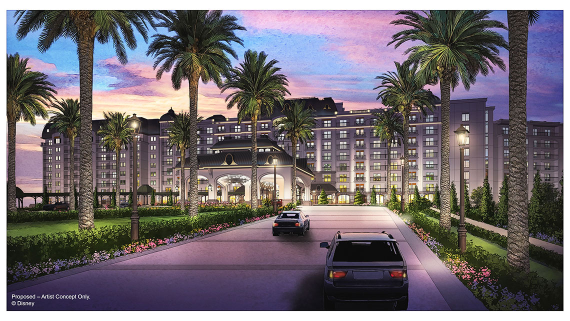 The Disney Riviera Resort is scheduled to open in fall 2019.