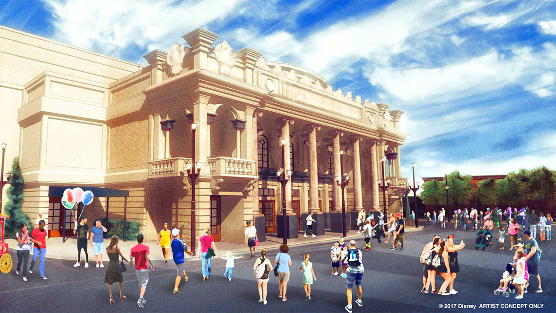 Disney is building a new live entertainment theater at Magic Kingdom's Main Street, U.S.A.