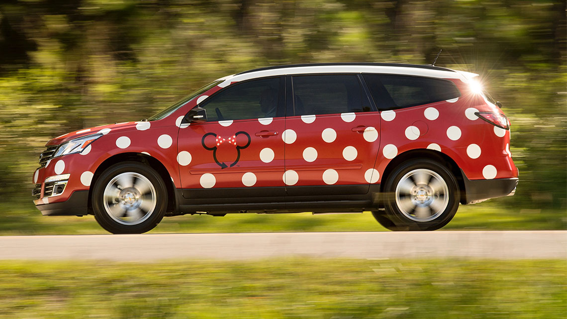 Disney's Minnie Van service is expected to launch this month.