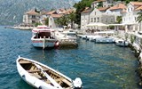 A town on the Bay of Kotor in Montenegro.