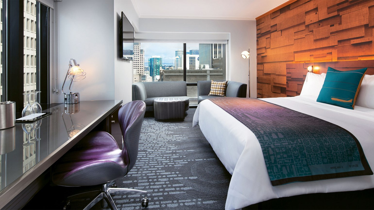 A Guestroom At The W Seattle
