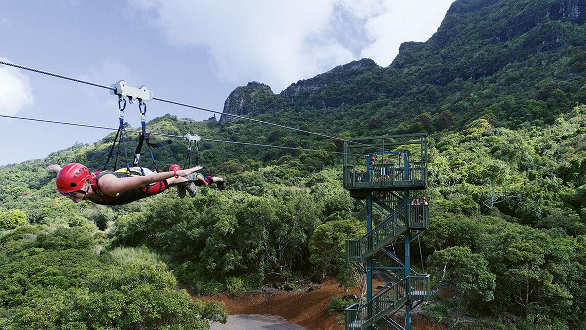 Kauai FlyLine Zipline