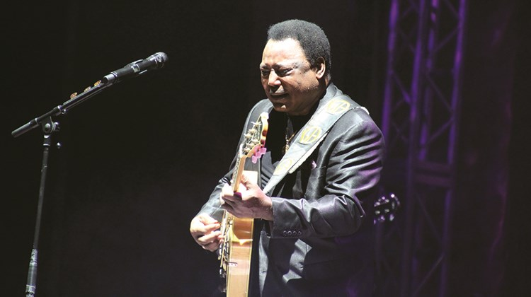 George Benson served as the festival's closing-night headliner.