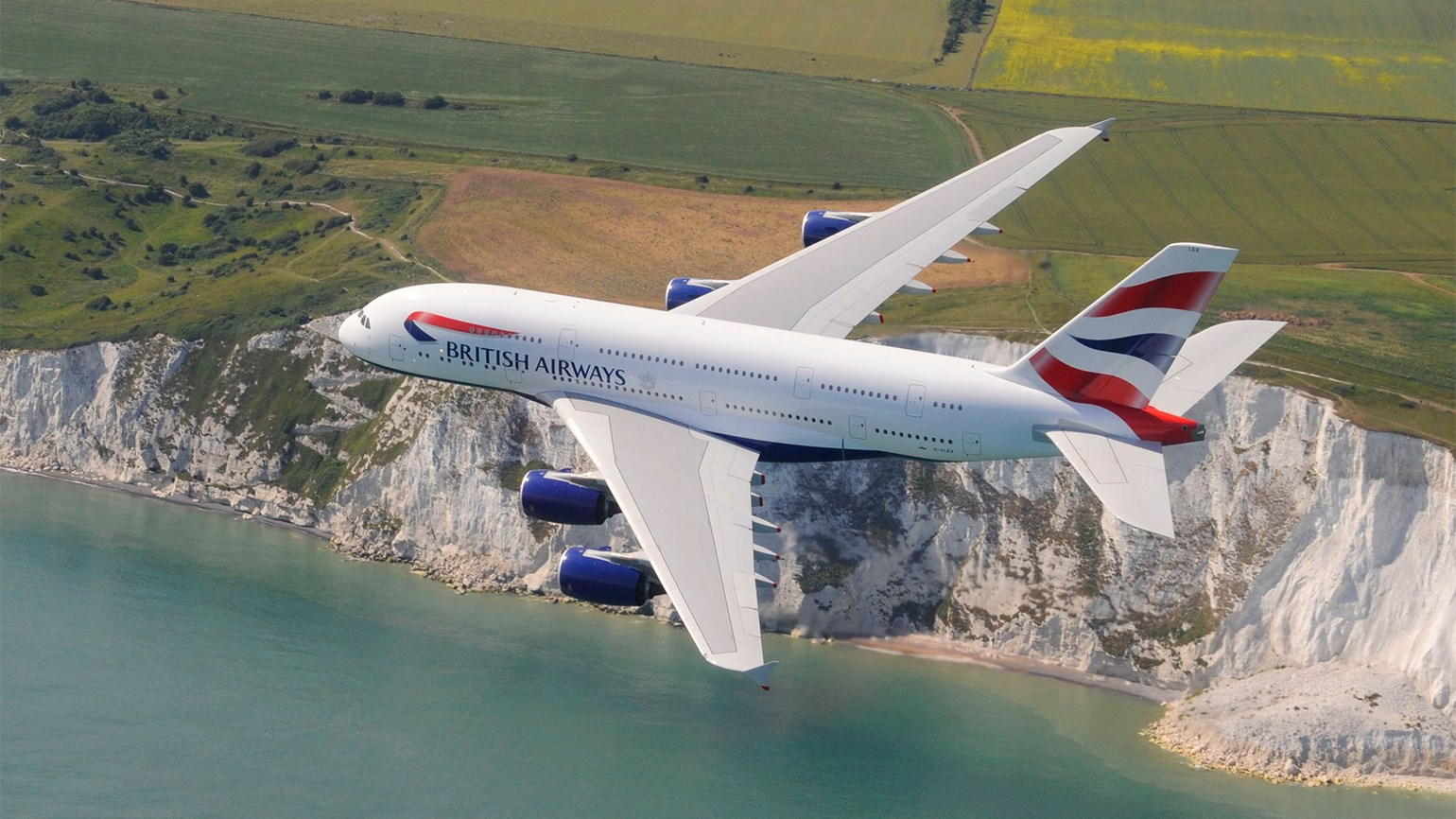 British Airways flying A380 to Chicago