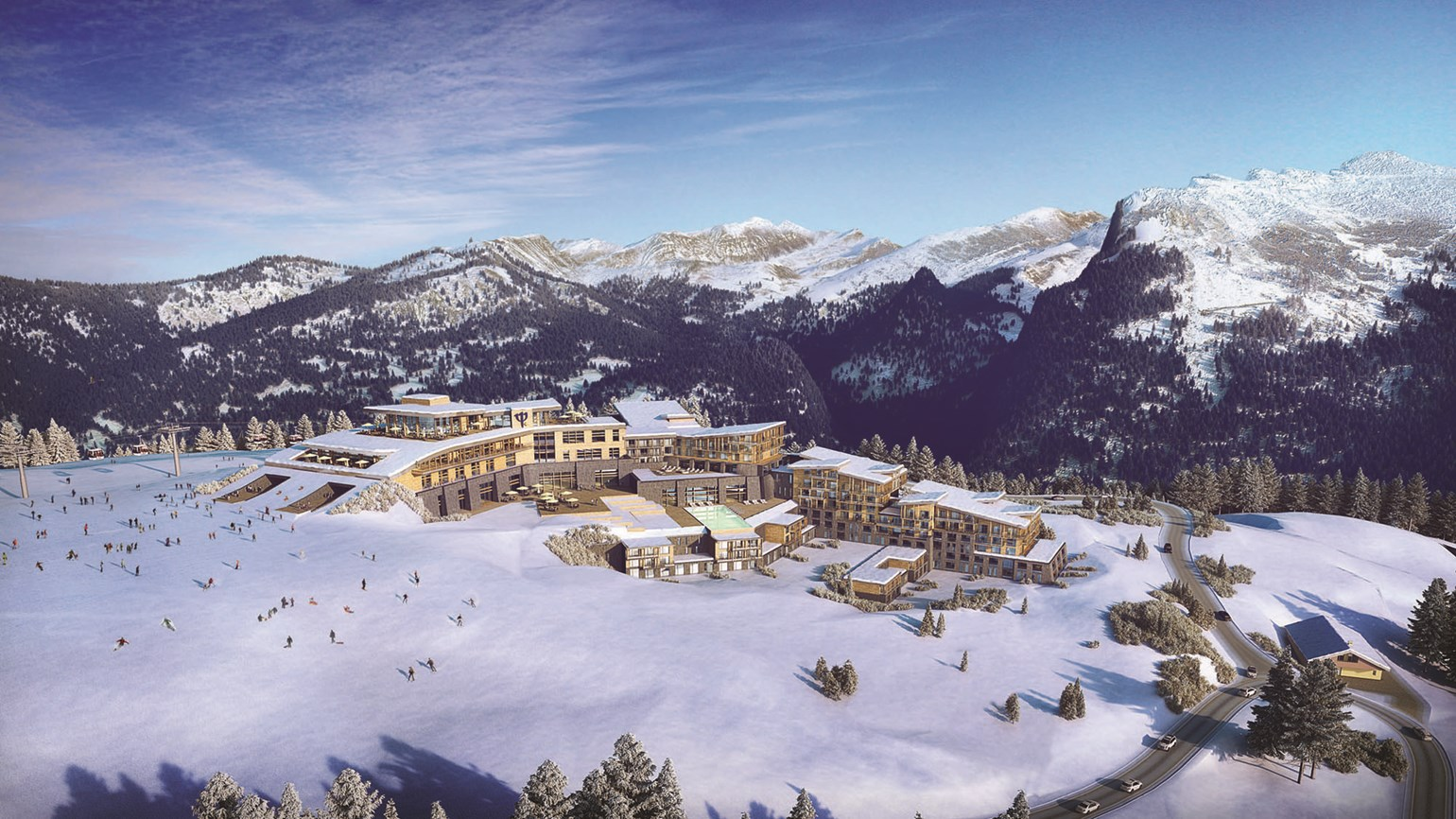 Club med ski resort to open in French Alps