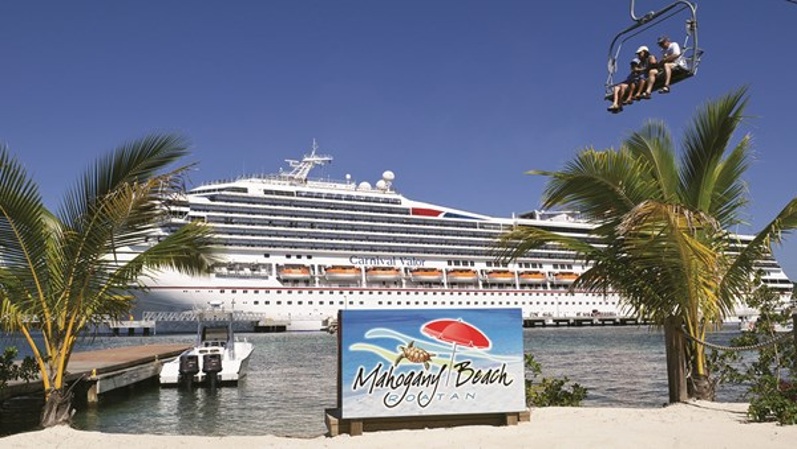 Carnival Cruise Line, which plans to build a beach destination on Grand Bahama island, already has a custom-built port at the island of Roatan in Honduras.