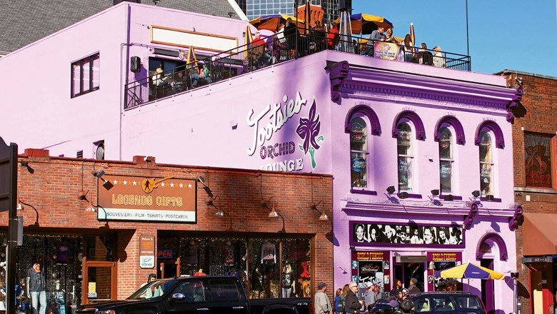 Live music at places like Tootsie's Orchid Lounge is a popular activity for bachelorette parties in Nashville.