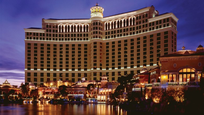 The Bellagio, pictured, and New York-New York will likely be among the first MGM properties on the Las Vegas Strip to reopen, said acting CEO and president Bill Hornbuckle.