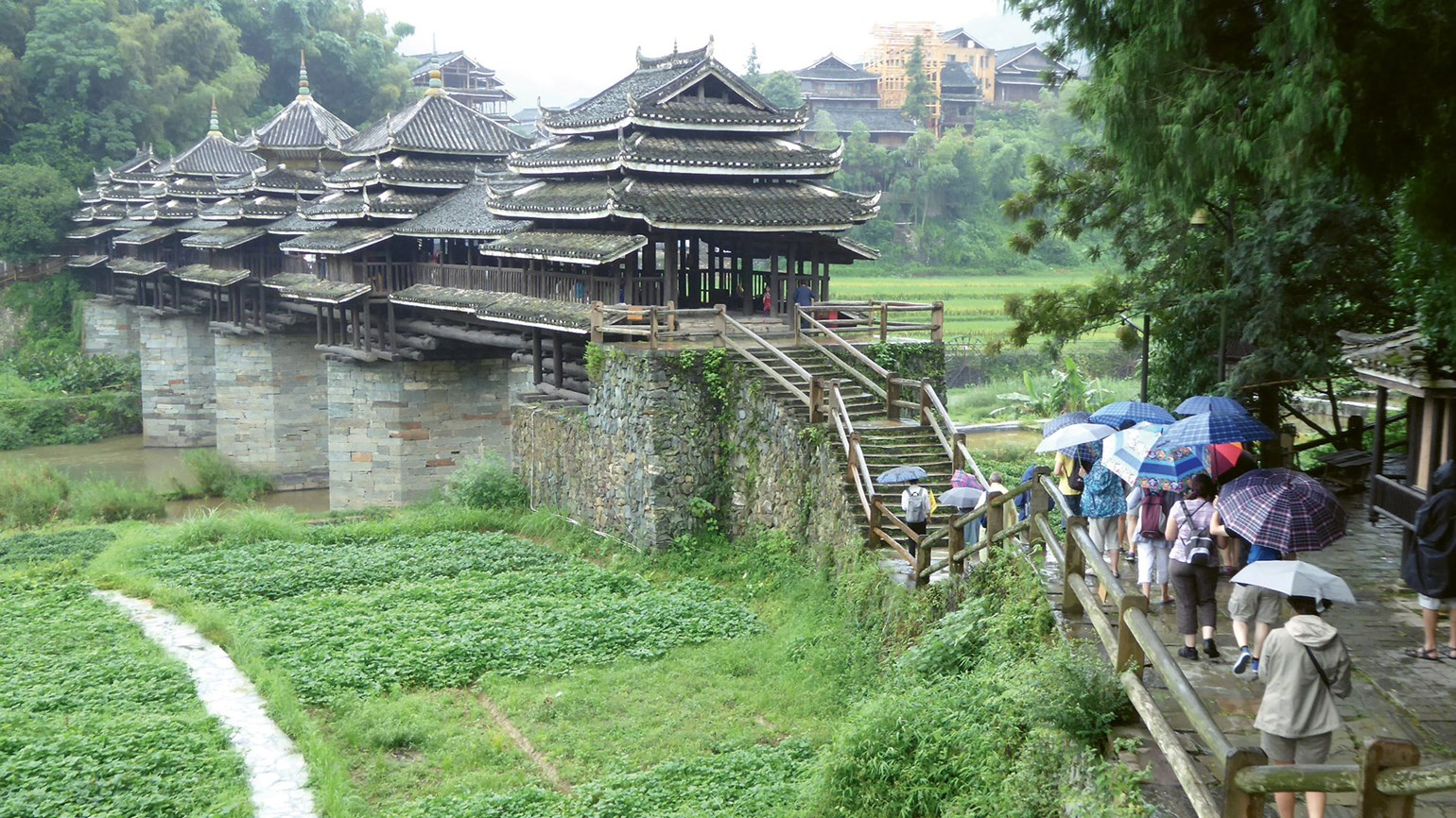 Near Guilin, scenes straight from a storybook