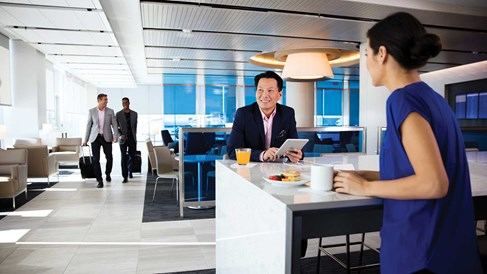 The changing face of airport lounges