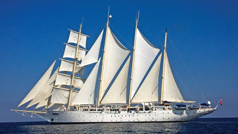 Masted majesty on a Star Clippers itinerary