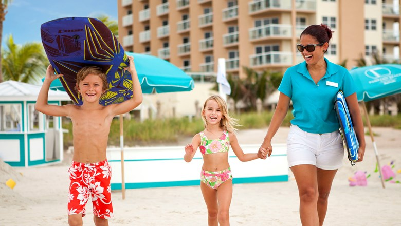The Fort Lauderdale Marriott Pompano Beach Resort Spa Partnered With Funky Fish Ocean Camp