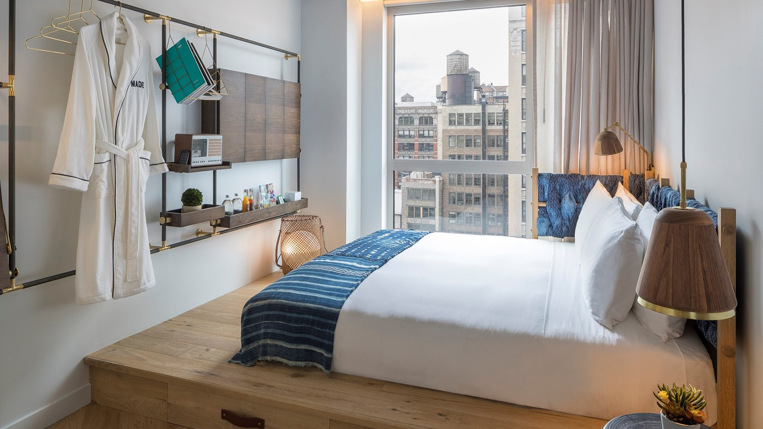 The boutique made hotel opens in new york travel weekly for Small design hotels