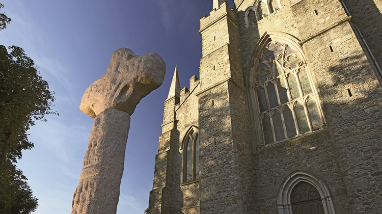 Down Cathedral, built on the site of a 12th century monastery in County Down, is said to be the burial site of St. Patrick.<br /><br /><strong>Photo Credit: Bernie Brown/Tourism Ireland</strong>