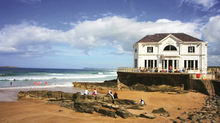 The Arcadia, a popular cafe and banquet hall in the small coastal town of Portrush.<br /><br /><strong>Photo Credit: Yvonne Wakefield (cc-by-sa/2.0)</strong>