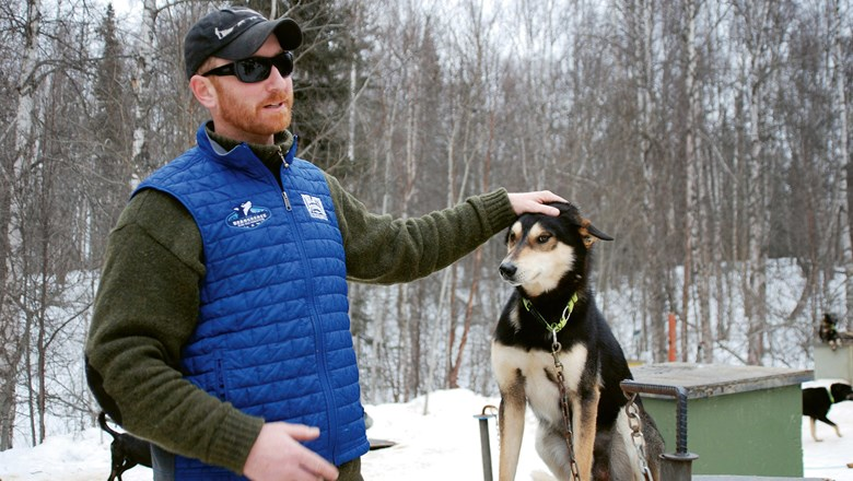 Iditarod competitor Justin Savidis will meet with guests on a new Access Trips itinerary.